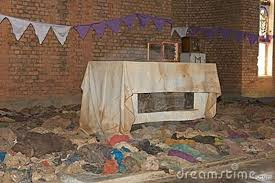 Blood-stained Altar Cloth