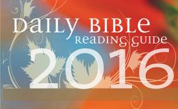 Daily Bible Reading Guide 2016