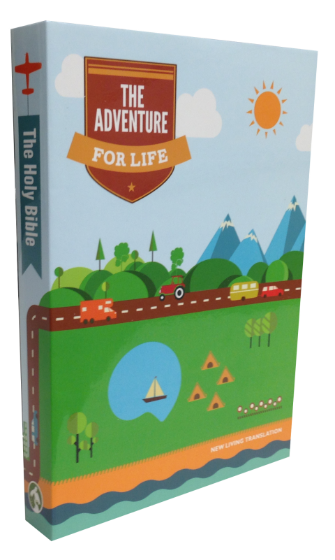 Adventure for Life Bible Cover