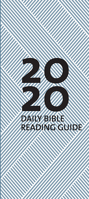 2020 Daily Bible Reading Guide Cover